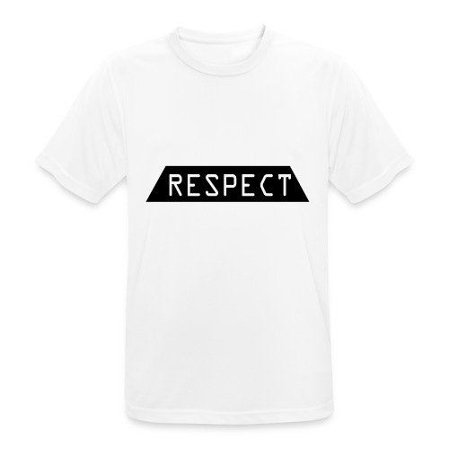 Respect - Pustende T-skjorte for menn