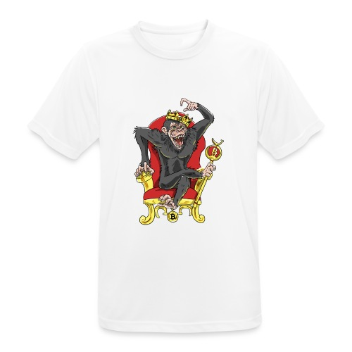 Bitcoin Monkey King - Beta Edition - Männer T-Shirt atmungsaktiv