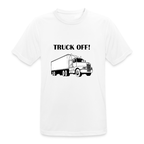 Truck off! - Men's Breathable T-Shirt
