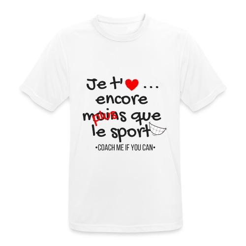 Saint Valentin - T-shirt respirant Homme