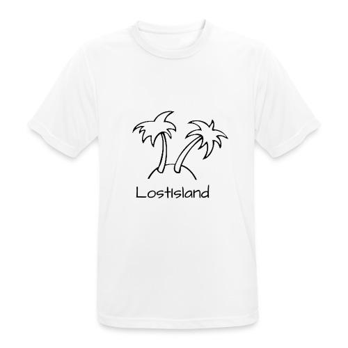 LostIsland ~ Palme - Männer T-Shirt atmungsaktiv
