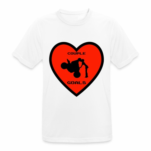 Couple Goals <3 - Maglietta da uomo traspirante