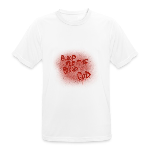 Blood For The Blood God - Men's Breathable T-Shirt