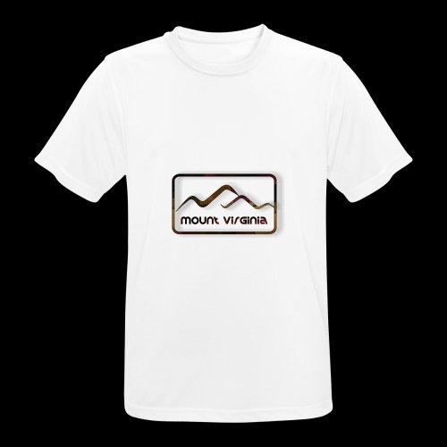 Mount Virginia Dark - Männer T-Shirt atmungsaktiv