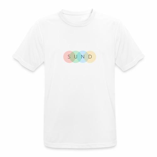 sund color - Mannen T-shirt ademend actief