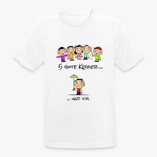 5 gute Kegler ...und ich! - Männer T-Shirt atmungsaktiv
