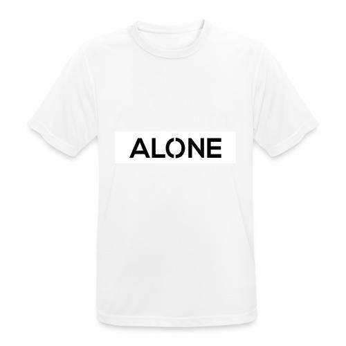 Alone BLACK Edition - Maglietta da uomo traspirante
