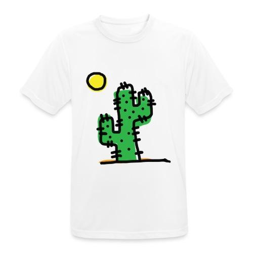 Cactus single - Maglietta da uomo traspirante