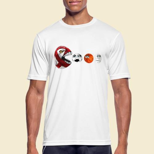 Radball | Cycle Ball RedMan - Männer T-Shirt atmungsaktiv