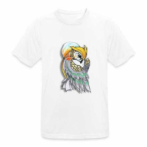 Cosmic owl - Camiseta hombre transpirable