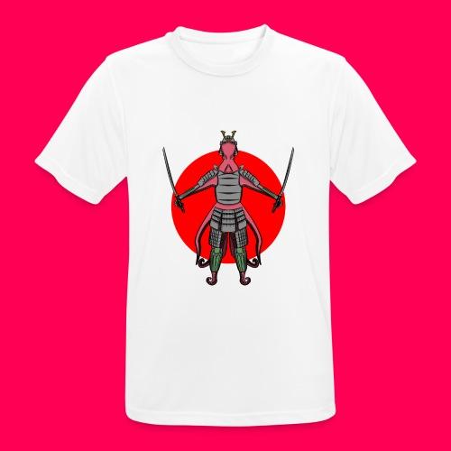 Octopus Samurai - Camiseta hombre transpirable