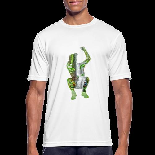 Jump into Adventure - Männer T-Shirt atmungsaktiv