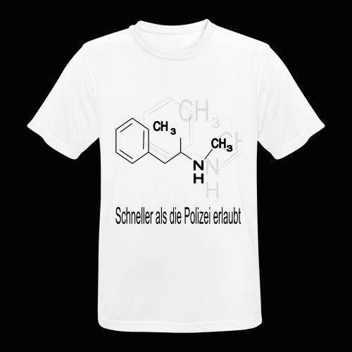 schneller als die Polizei erlaubt - Männer T-Shirt atmungsaktiv