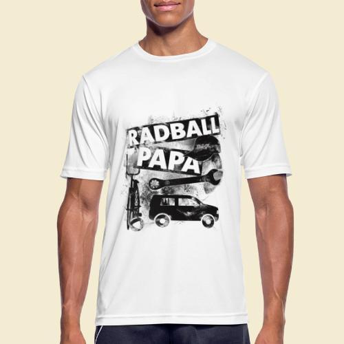 Radball | Papa - Männer T-Shirt atmungsaktiv