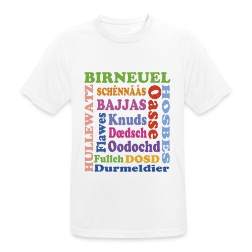 schimpf - Männer T-Shirt atmungsaktiv