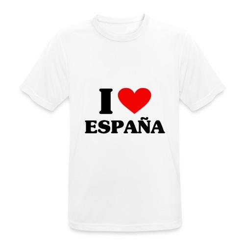 I love Espana - Männer T-Shirt atmungsaktiv