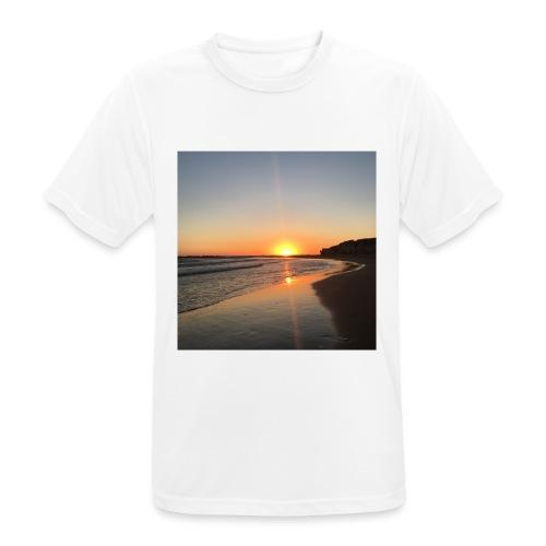 coucher de soleil - T-shirt respirant Homme