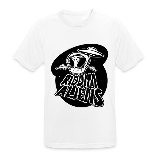 Alien (White Design) - Men's Breathable T-Shirt
