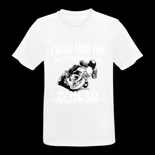 I Might Look - Andningsaktiv T-shirt herr