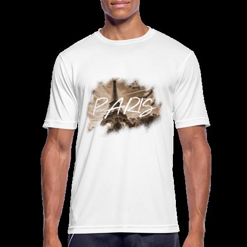 PARIS   MKEY - Männer T-Shirt atmungsaktiv