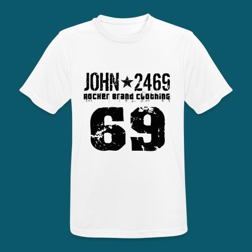 john 2469 numero trasp per spread nero PNG - Maglietta da uomo traspirante