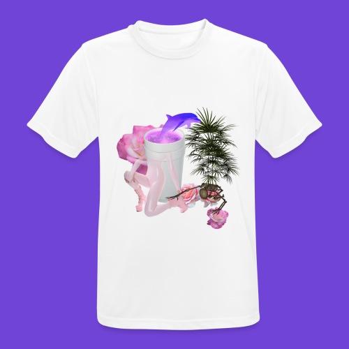 Purple Drank - Maglietta da uomo traspirante