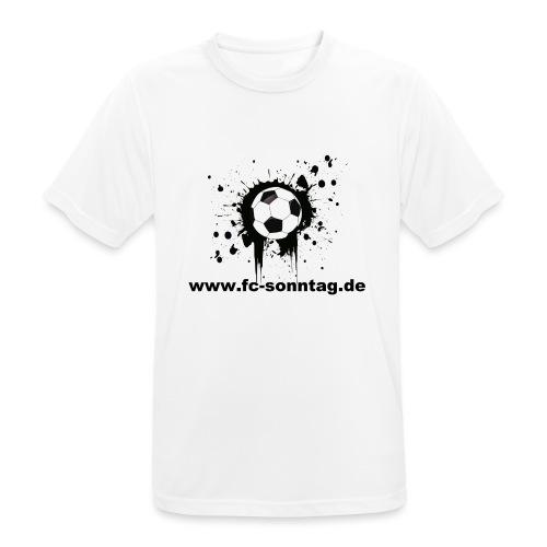 FC Sonntag Ball - Männer T-Shirt atmungsaktiv