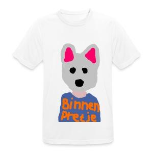Binnenpretje T-shirts - mannen T-shirt ademend