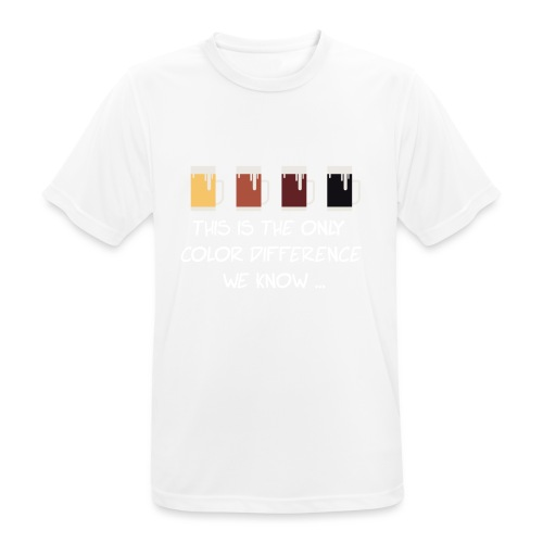 No to racism - Men's Breathable T-Shirt