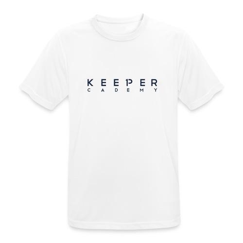 Schriftzug - Männer T-Shirt atmungsaktiv