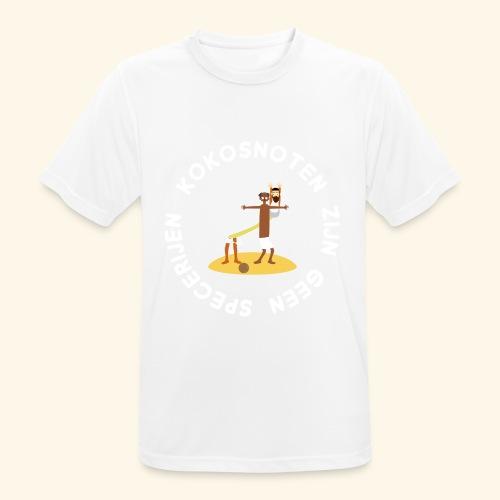 Kokosnoten zijn geen specerijen - mannen T-shirt ademend
