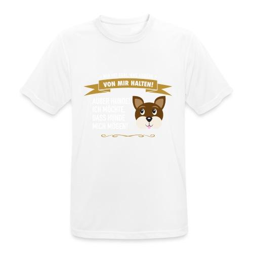 Hauptsache Hundeliebe! - Männer T-Shirt atmungsaktiv