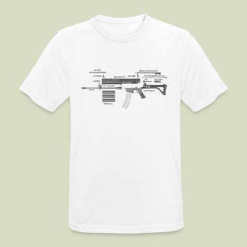 Robinson Armament XCR - miesten tekninen t-paita