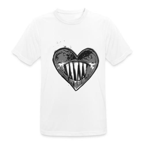 Corazón Negro - Camiseta hombre transpirable
