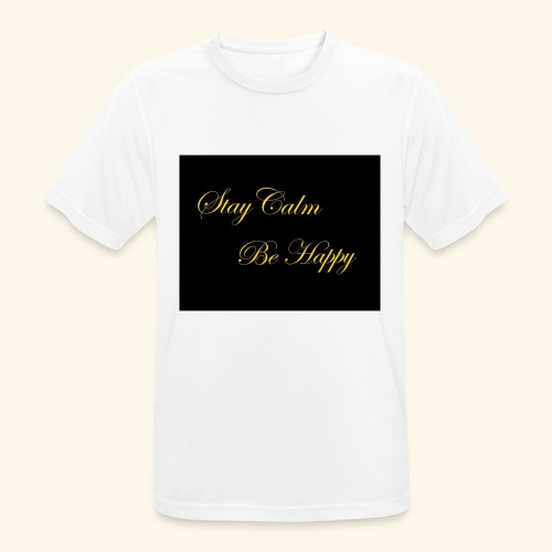 Be Happy - T-shirt respirant Homme