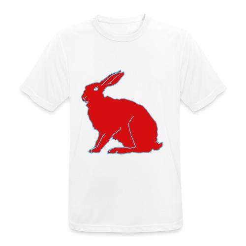 Roter Hase - Männer T-Shirt atmungsaktiv
