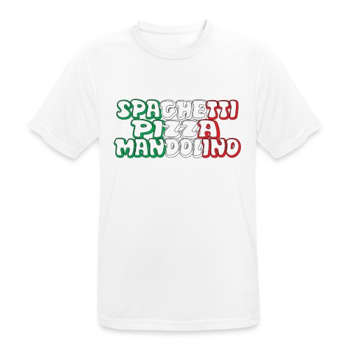 Italy - Maglietta da uomo traspirante