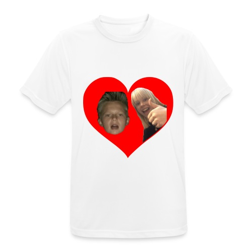 Sebber in love - Herre T-shirt svedtransporterende