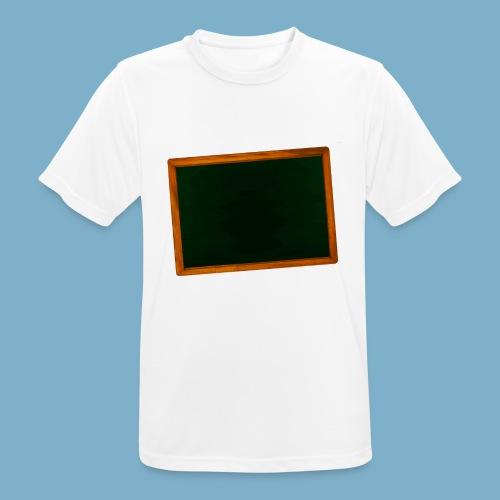 Schul Tafel - Männer T-Shirt atmungsaktiv