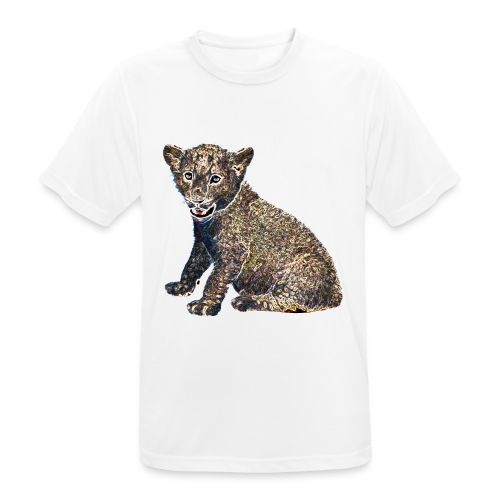 Lil Lion - Men's Breathable T-Shirt