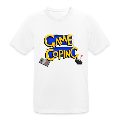 Game Coping Logo - Men's Breathable T-Shirt