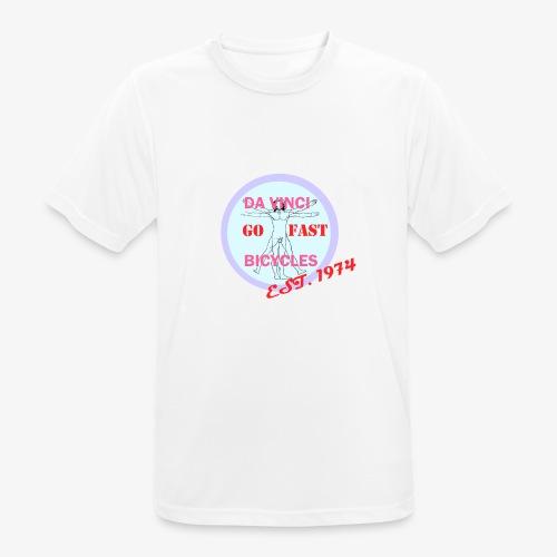 daVinci Bicycles Retro - miesten tekninen t-paita