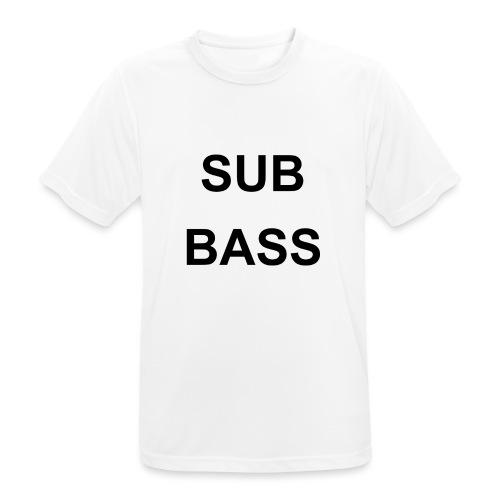 sub bass - Mannen T-shirt ademend