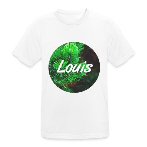 Louis round-logo - Männer T-Shirt atmungsaktiv