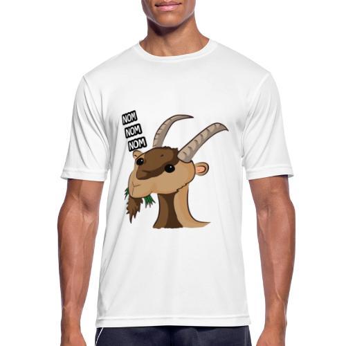 Lo stambecco puccioso - Maglietta da uomo traspirante