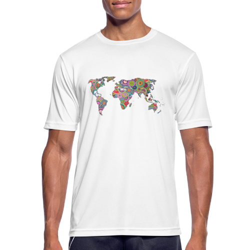 Hipsters' world - Men's Breathable T-Shirt
