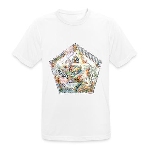 Pentagranuncolo - Maglietta da uomo traspirante