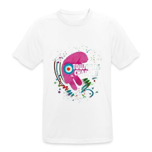 Toujours Charlie interprété par l'artiste C215 - T-shirt respirant Homme