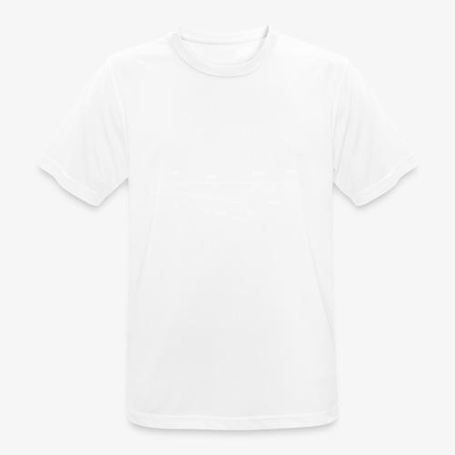 Cooks Knife Blueprint - Men's Breathable T-Shirt