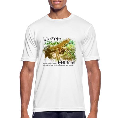 Wurzeln bleiben - Männer T-Shirt atmungsaktiv